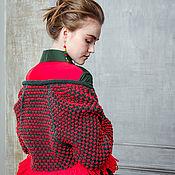 Одежда ручной работы. Ярмарка Мастеров - ручная работа Пальто ручной вязки длинное 1607V01. Handmade.