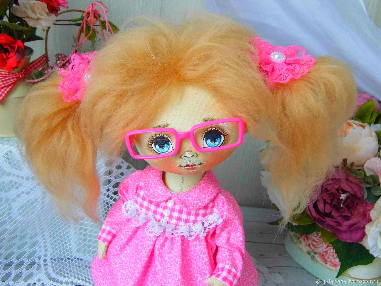 Ура! Мы идем в гости! Текстильная кукла Люся, Куклы и пупсы, Буй,  Фото №1