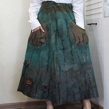 """Одежда ручной работы. Ярмарка Мастеров - ручная работа """" Двойная Жизнь"""" Юбка двусторонняя. Handmade."""
