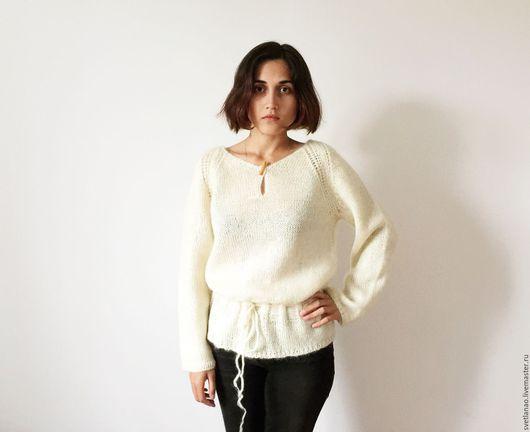 """Кофты и свитера ручной работы. Ярмарка Мастеров - ручная работа. Купить Джемпер  """"Soft"""". Handmade. Мохеровый свитер, стильное вязание"""