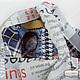 Повседневная сумка баул мешок торба Газетная полоса Глубокий вертикальный карман под ручкой. Удобно для ключей и документов