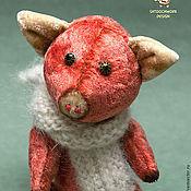 Куклы и игрушки ручной работы. Ярмарка Мастеров - ручная работа Поросенок Смак. Handmade.