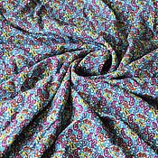 Ткани ручной работы. Ярмарка Мастеров - ручная работа Ткань штапель Огурцы. Handmade.