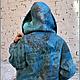 """Верхняя одежда ручной работы. Куртка """"Весенняя рапсодия"""". Садыкова Ирина. Ярмарка Мастеров. Куртка валяная, шёлк натуральный"""