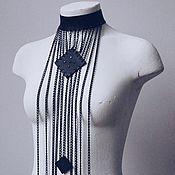 Украшения handmade. Livemaster - original item Choker necklace with chains. Handmade.