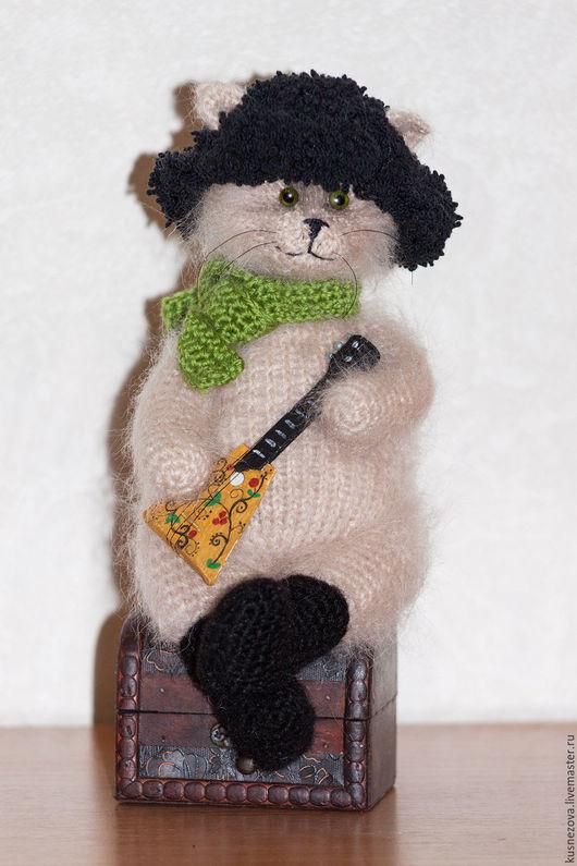 Игрушки животные, ручной работы. Ярмарка Мастеров - ручная работа. Купить Русский кот. Handmade. Бежевый, ручная работа