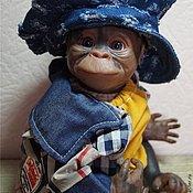 Куклы и игрушки ручной работы. Ярмарка Мастеров - ручная работа обезьян ПРИНЦ-кукла реборн. Handmade.