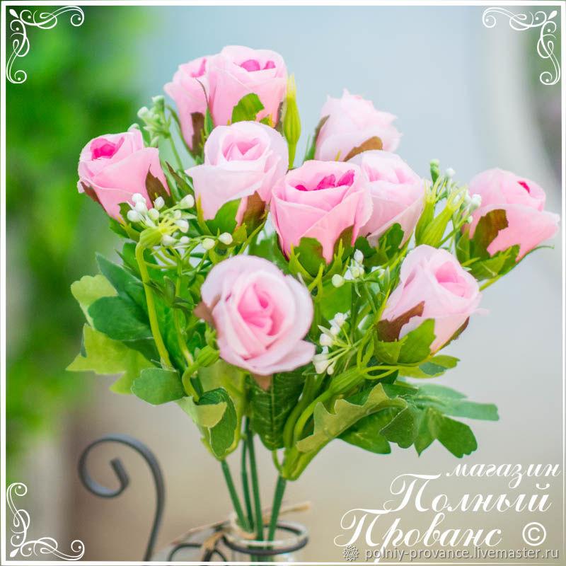 Букет розовых бутонов Нежность, 31 см. 7307, Цветы, Астрахань, Фото №1