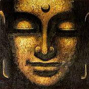 Картины и панно handmade. Livemaster - original item Picture: Buddha.. Handmade.