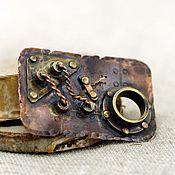 Украшения handmade. Livemaster - original item Steampunk brooch small. Handmade.