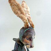 Куклы и игрушки ручной работы. Ярмарка Мастеров - ручная работа Заяц Гуди. Handmade.
