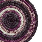 Украшения ручной работы. Ярмарка Мастеров - ручная работа Украшение на шею Lasso Magic вязаный шарф колье бусы. Handmade.