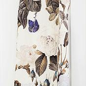 Одежда ручной работы. Ярмарка Мастеров - ручная работа Платье - комбинация из шерсти и шелка. Handmade.