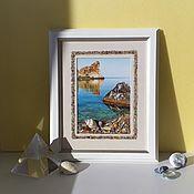 Картины и панно handmade. Livemaster - original item Crimean coast. Handmade.