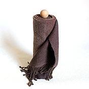 """Аксессуары ручной работы. Ярмарка Мастеров - ручная работа Тканый шарф """"Вкус кофе"""" Шарф. Handmade."""