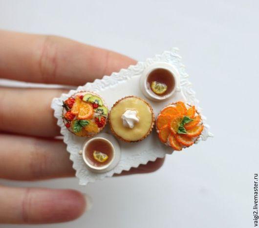 Магниты ручной работы. Ярмарка Мастеров - ручная работа. Купить Магниты на холодильник. Handmade. Сырная тарелка, кулинарная миниатюра