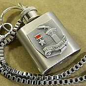 Сувениры и подарки handmade. Livemaster - original item Flask-keychain with symbols of VICTORY