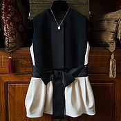 Одежда ручной работы. Ярмарка Мастеров - ручная работа Жилетка  женская. Handmade.