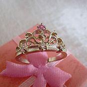 Украшения handmade. Livemaster - original item Ring Crown 2. Handmade.