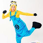 Одежда handmade. Livemaster - original item Minion costume for animator. The club animators.. Handmade.