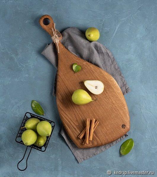 Кухня ручной работы. Ярмарка Мастеров - ручная работа. Купить Большая дубовая разделочная доска. Handmade. Кухня, разделочная доска