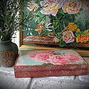 """Сувениры и подарки ручной работы. Ярмарка Мастеров - ручная работа Купюрница """"Нежность роз"""" к 8 Марта. Handmade."""