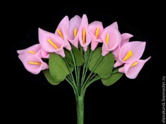 Другие виды рукоделия ручной работы. Ярмарка Мастеров - ручная работа. Купить Цветы(каллы и розы) из фоамирана. Handmade. Комбинированный
