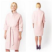 Одежда ручной работы. Ярмарка Мастеров - ручная работа Пальто розовое, розовое пальто, демисезонное пальто. Handmade.