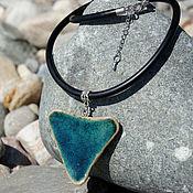 Украшения handmade. Livemaster - original item Ceramic pendant