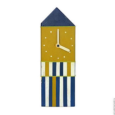Для дома и интерьера ручной работы. Ярмарка Мастеров - ручная работа Настольные часы_Интерьерные часы настольные_Часы из дерева. Handmade.