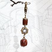Сумки и аксессуары handmade. Livemaster - original item Keychain: in the style of grunge