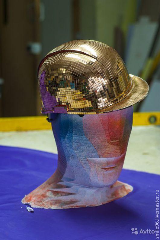 """Подарки для мужчин, ручной работы. Ярмарка Мастеров - ручная работа. Купить Каска """"Блеск золота"""". Handmade. Золотой, подарок для женщины"""
