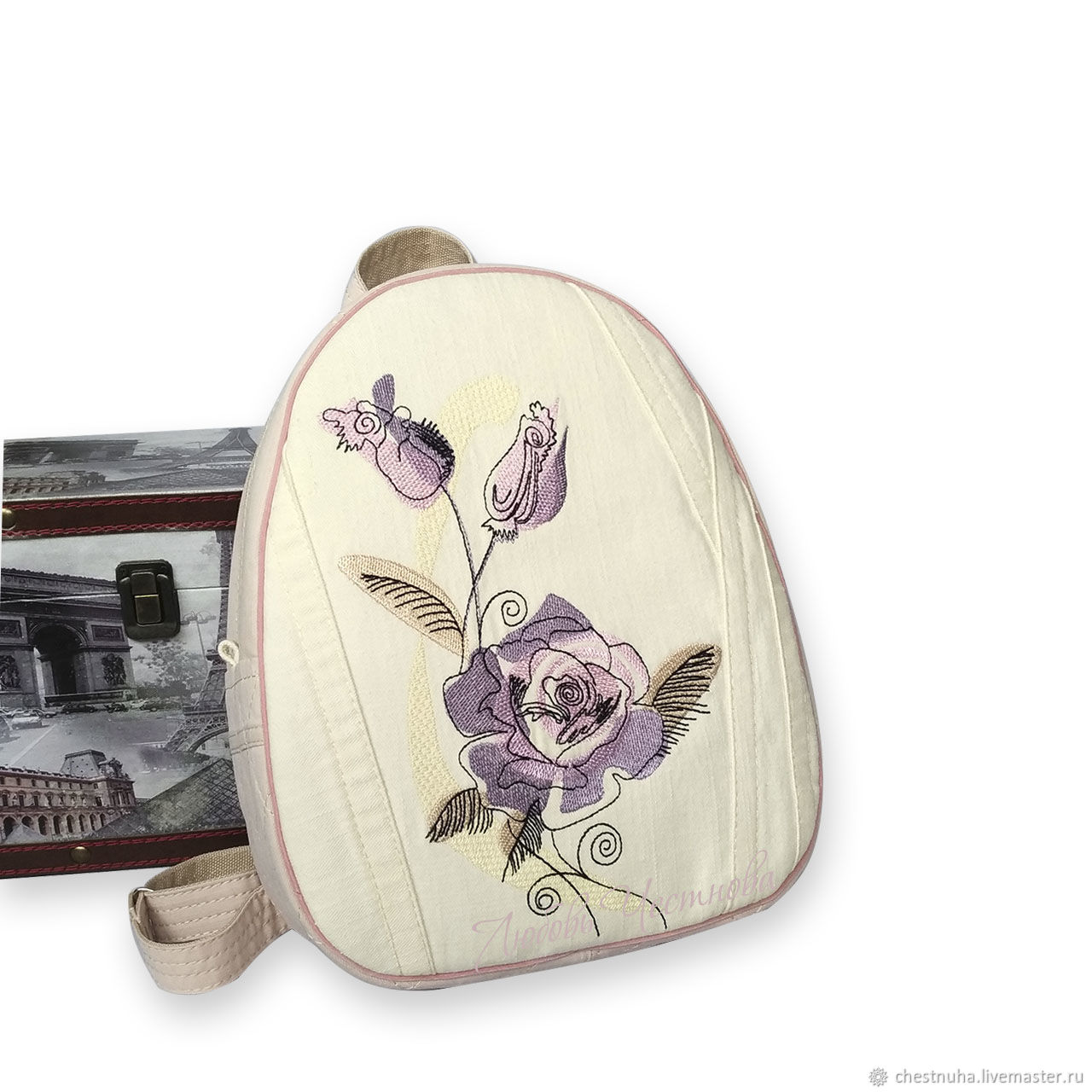Рюкзак джинсовый женский Rose, Рюкзаки, Кострома,  Фото №1