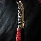 Бутафорский нож ручной работы. Ярмарка Мастеров - ручная работа Хряпа Скаргрима Рукнара - орка маньяка скорости. Handmade.