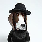 Куклы и игрушки handmade. Livemaster - original item Art doll Basset. Handmade.