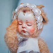 Куклы и игрушки ручной работы. Ярмарка Мастеров - ручная работа тедди-долл Сонечка. Handmade.