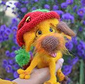 Куклы и игрушки ручной работы. Ярмарка Мастеров - ручная работа Мастер-класс по вязанию пёс Батончик и киска Царапка. Handmade.