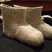 Обувь ручной работы. Ярмарка Мастеров - ручная работа Валенки с короткой голенью. Handmade.