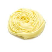 Аксессуары ручной работы. Ярмарка Мастеров - ручная работа Палантин из 100% кашемира яркого оттенка Primrose Yellow. Handmade.