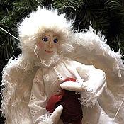 Куклы и игрушки handmade. Livemaster - original item Gentle angel # 5 angel Christmas. Handmade.