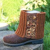 Обувь ручной работы. Ярмарка Мастеров - ручная работа ирландское кружево. Handmade.