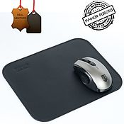 Сувениры и подарки handmade. Livemaster - original item mouse pad made of genuine leather. Handmade.