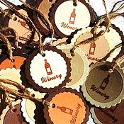 Материалы для творчества ручной работы. Ярмарка Мастеров - ручная работа Бирочки с вашим логотипом ручной работы. Handmade.