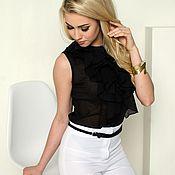 Blouses handmade. Livemaster - original item Dressy blouse, summer blouse from Batista. Handmade.