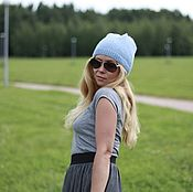 Аксессуары handmade. Livemaster - original item The thin Alpaca hat,