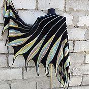 Аксессуары handmade. Livemaster - original item Large Knitted Scarf. Bright Mini Shawl.. Handmade.