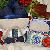 """Куклы и игрушки ручной работы. Ярмарка Мастеров - ручная работа Кукла мотанка """"Зерновушка и Богач"""". Handmade."""