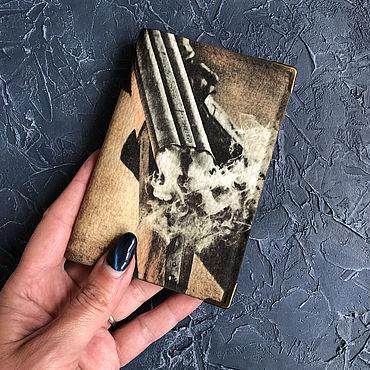 Stationery handmade. Livemaster - original item Passport cover avtodokumentov or