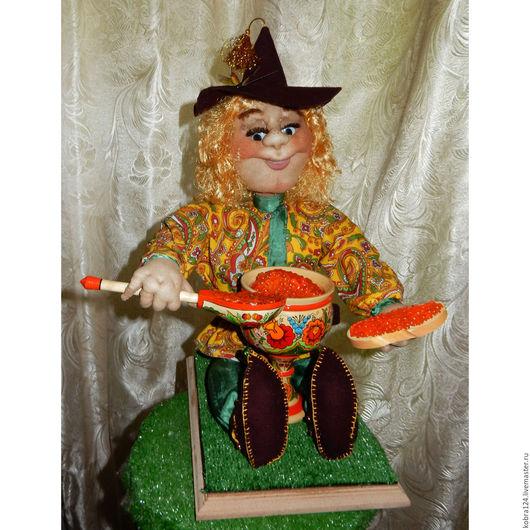 """Коллекционные куклы ручной работы. Ярмарка Мастеров - ручная работа. Купить Кукла интерьерная """"Солнечный Егорка"""". Handmade. Комбинированный"""
