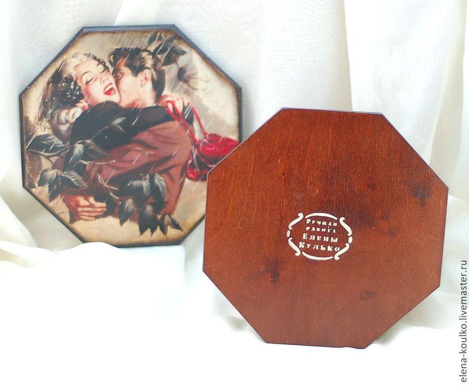 Шкатулка для рукоделия мастер класс с фото #9